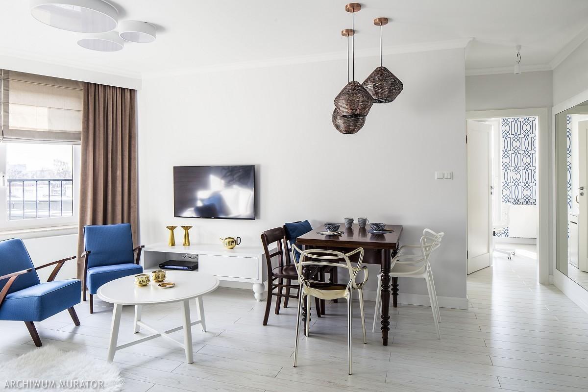 Biel: kolory wnętrza domu