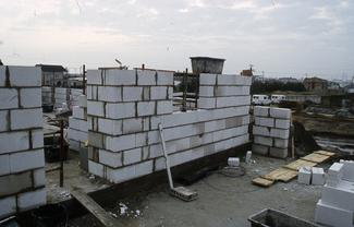 Mury z silikatów