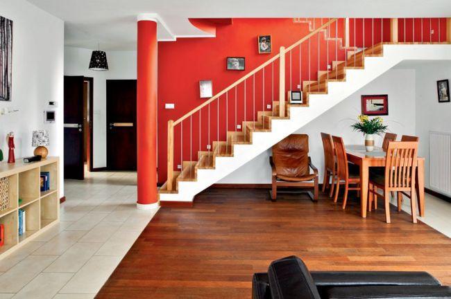 Salon i schody