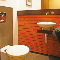 Płytki klinkierowe w łazience