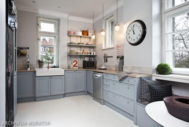 Galeria zdjęć  7 sposobów na podłogę w kuchni   -> Inspiracje Kuchni Malej