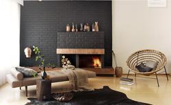 Modne ściany. 14 pomysłów na kolory ścian w salonie [ZDJĘCIA]