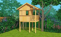 Nie przegap: gotowy projekt domku dla dzieci