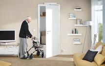 Elektryczne otwieranie drzwi wewnętrznych – napęd PortaMatic