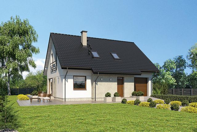 Dom do 100 / 110 m2. Top 5 projektów domów, które zbudujesz z programem MdM