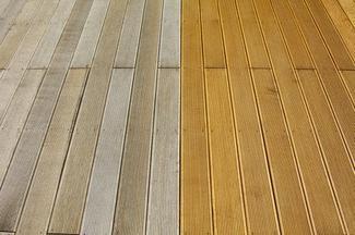 Drewniany taras - konserwacja