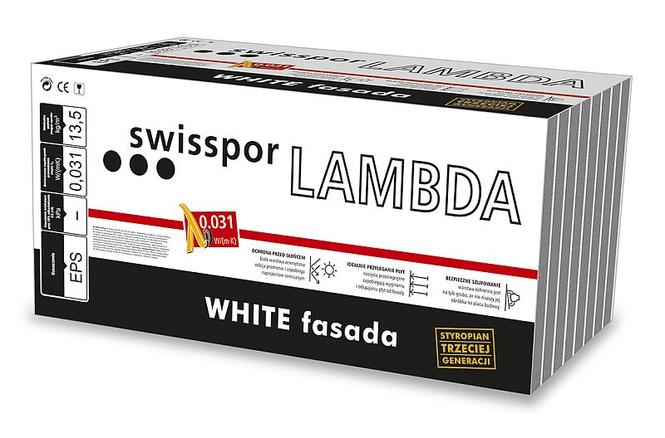 Paczka - styropian Lambda White