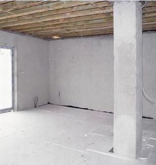 Polistyrenowe izolacje podłóg, stropów i tarasów