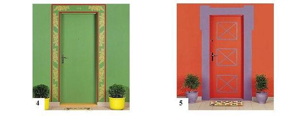 Drzwi wejściowe w różnych stylach