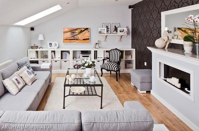 Projekt salonu. Jak powinien wyglądać wygodny pokój dzienny? - Wnętrza - Muratordom.pl